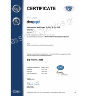 ebmpapst ISO CERTIFICATE